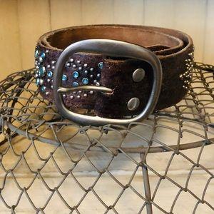 Abercrombie Leather Belt:
